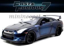 JADA 97035 FAST AND FURIOUS 7 BRIAN'S 2009 09 NISSAN SKYLINE GT R R35 1/18 BLUE