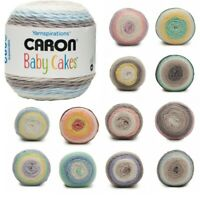 Caron Baby Cakes Aran Yarn Baby Blanket Knitting Crochet Crafts 100g Ball