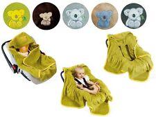 Baby Einschlagdecke Babydecke Decke für Babyschale Kinderwagen Koala Oeko-Tex