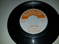 "THE SUNGLOWS Peanuts / Love Me SUNGLOW 107 45 VINYL 7"" RECORD"