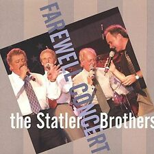 The  Farewell Concert by The Statler Brothers 2 CD SET NEW SEALED OOP