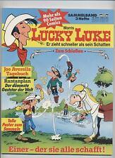 LUCKY LUKE SAMMELBAND 1001 - BASTEI VERLAG - Hefte 1,2,3 - TOP
