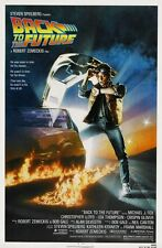 "BACK TO THE FUTURE Movie Poster [Licensed-New-USA] 27x40"" Theater Size (1985)"