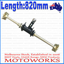 Rear Axle Assembly + Carrier Hubs 150cc 250cc Quad Dirt Bike ATV Dune Buggy Fam