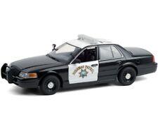 Greenlight 2008 Ford Crown Victoria Police Car 1:24 Ca Highway Patrol CHP 85523