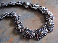 Carl Priolo Sterling Silver 925 Athena Statement Acanthus Choker Necklace CHIARA