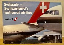 Swissair - Switzerlands National Airline Informational Booklet