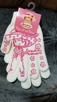 STAWBERRY SHORTCAKE STRETCH KNIT GLOVES USA SELLER AMERICAN GREETINGS