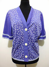 PIERRE CARDIN PARIS Camicia Maglietta Donna Cotone Woman Cotton Shirt Sz.L - 46