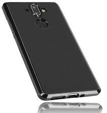 mumbi Hülle f. Nokia 8 Sirocco Schutzhülle Case Cover Tasche Schutz Schwarz