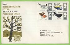 Elizabeth II (1952-Now) Birds British First Day Covers