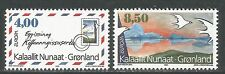 Greenland 1995 Europa/Peace and Freedom--Attractive Art Topical (291-92) MNH