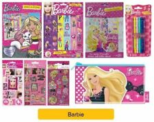 BARBIE - Colouring Stickers Activity Books Pads Sheets Kids Party Gift Xmas