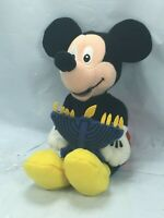 Disney Mickey Mouse Memories Plush Hanukkah Blue Candle Menorah Free Shipping