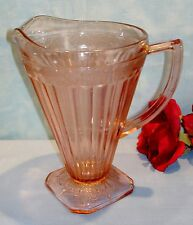 Jeannette Adam Pink Depression Glass Pitcher, 8 in., 32 oz.