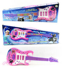 53CM DISNEY Frozen Pink Music Guitar Light & Sound Kids Toy