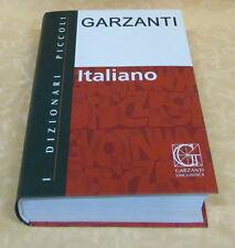 I dizionari piccoli Garzanti  ITALIANO isbn 9788848006682 cod.14605
