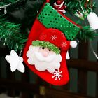 Christmas Santa Socks Ornaments Festival Party Xmas Tree Bear Hanging Decoration