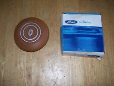 NOS 1978 1979 1980 1981 FORD FAIRMONT STEERING WHEEL CENTER PAD EMBLEM CHAMOIS