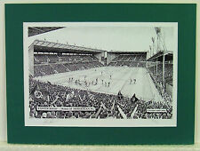 Hibernian FC - Easter Road. Limited Edition Stadium Art Print by Stuart Herd