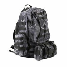 55L Tactical Camping Hiking Travel Camo Backpack Military Heavy Duty Bag MA