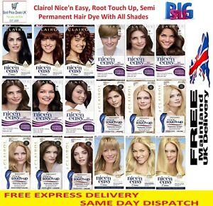 Clairol Nice' n Easy Root Touchup & Semi Permanent Hair Dye  (54 Colour Option)