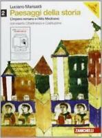 Paesaggi della storia 2, Luciano Marisaldi, Zanichelli editore, cod9788808108043