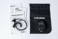Profoto Air Remote TTL-C for Canon - Original box and included accessories.