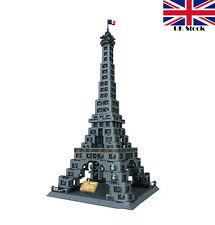 EIFFEL TOWER PARIS ARCHITECTURE CONSTRUCTION BUILDING BRICKS 978 PCS COMPATIBLE