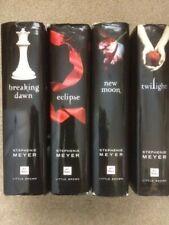 Twilight Saga Series 1-4 Set: New Moon, Eclipse,Breaking Dawn hardback HC HB lot
