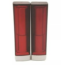 Lot Of (2) Maybelline Colorsensation Bold Lipdtick #625 Are You Red