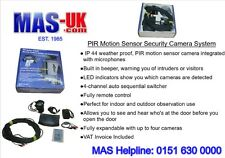PIR Motion Sensor - Security Camera with Remote Control