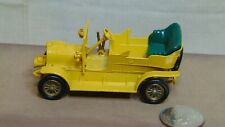 MATCHBOX MODELS OF YESTERYEAR NO 16 1904 SPYKER MISSING FRONT SEAT YELLOW