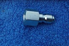 "PRESSURE WASHER JETWASH QUICK RELEASE COUPLINGS MINI 11.6 MALE X 1/4"" BSP FEMALE"