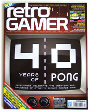 Retro Gamer - Magazin #104 / 2012 . UK - Videospiel Zeitschrift - PONG