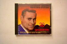 George Jones  20 greatest hits CD