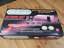 Nintendo Entertainment System NES Console System W/ Original Box Action Set Used