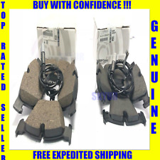 BMW E70 E71 Front & Rear Brake Pads With Sensors X5 X6 Genuine