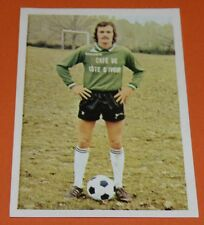 N°43 RIGONI GIRONDINS BORDEAUX AGEDUCATIFS FOOTBALL 1973-1974 73-74 PANINI
