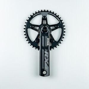 ZRACE RX Single Speed Crankset for gravel-bike Cyclo-Cross Folding Bike 10/11/12