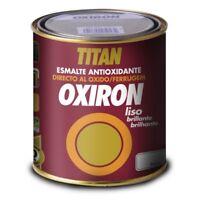 PINTURA OXIRON LISO GRIS METALIZADO 4550 750 ML