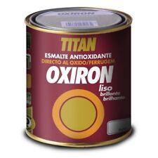 PINTURA OXIRON LISO PLATA 4520 750 ML