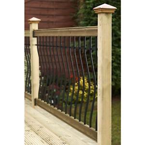 Tuscany Balustrade Kit (1.8m Span), Railing Systems & Garden Handrails