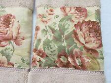 Ralph Lauren Grosvenor Square fabric 2/ Kitchen Hand Towels Handmade