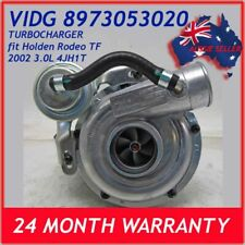 TURBOCHARGER fit HOLDEN ISUZU TF RODEO RHF5 VIDG 2002 4JH1T 3.0L 2 YEAR WARRANTY