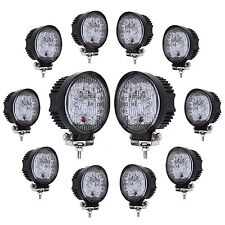 12pcs 27w Led Work Light Bar Flood Beam ATV SUV 4WD Driving Fog Lamp Truck UTE