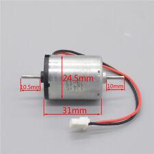 Micro 370 Motor DC 3V~12V 2800RPM-11700RPM Carbon Brush Dual Shaft Ball Bearing