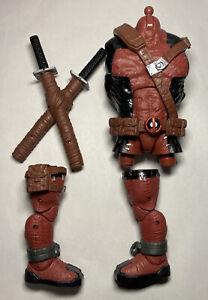 Marvel Legends VENOMPOOL BAF Build A Figure BODY/TORSO SWORDS RIGHT & LEFT LEG