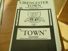 CIRENCESTER  TOWN  V  EASINGTON  SPORTS  1985-6