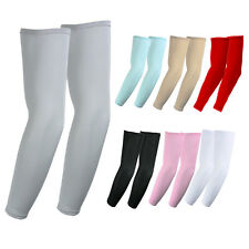 1 Pair (US SELLER) Cooling arm sleeves Sun Protective UV Cover Sports